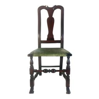 19th Century Dutch Farmhouse Side Chair For Sale