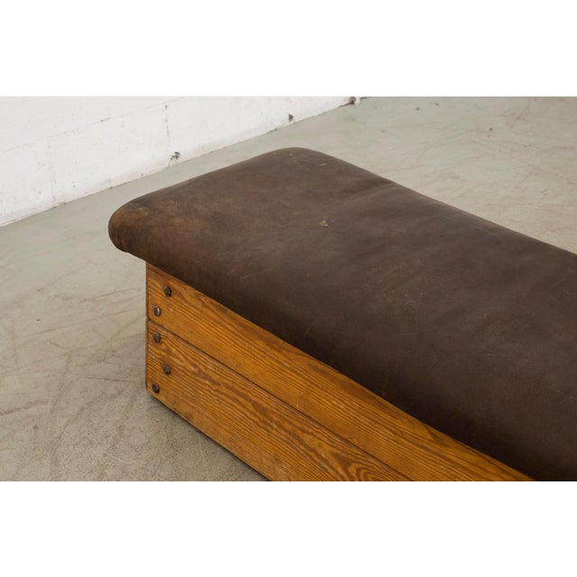 Vintage Dutch Gym Bench - Image 8 of 10