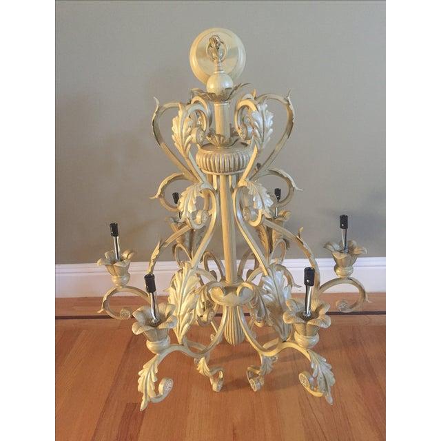 Antique Six-Light Chandelier - Image 2 of 3