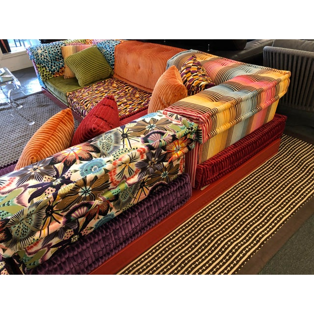 Missoni Missoni Mah Jong Sectional by Roche Bobois For Sale - Image 4 of 13