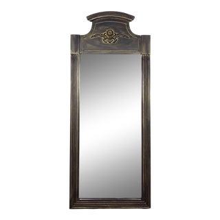 Vintage Solid Wood Rectangular Mirror For Sale