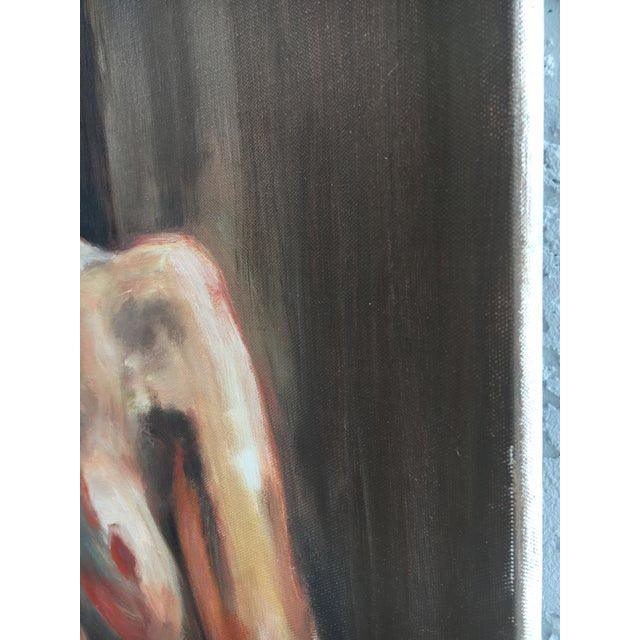 2010s Sara Caruso Portrait Painting For Sale - Image 5 of 8