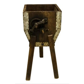 19Th Century Rustic French Oak Butter Churn Preview