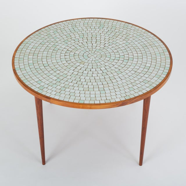 Marshall Studios Tile-Top Walnut Dining Table by Gordon & Jane Martz for Marshall Studios For Sale - Image 4 of 13