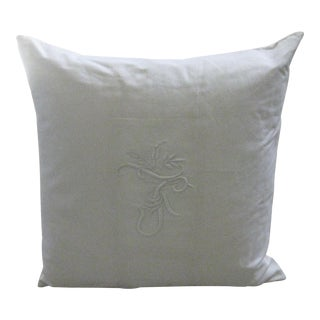 Ralph Lauren Home White Pillow For Sale