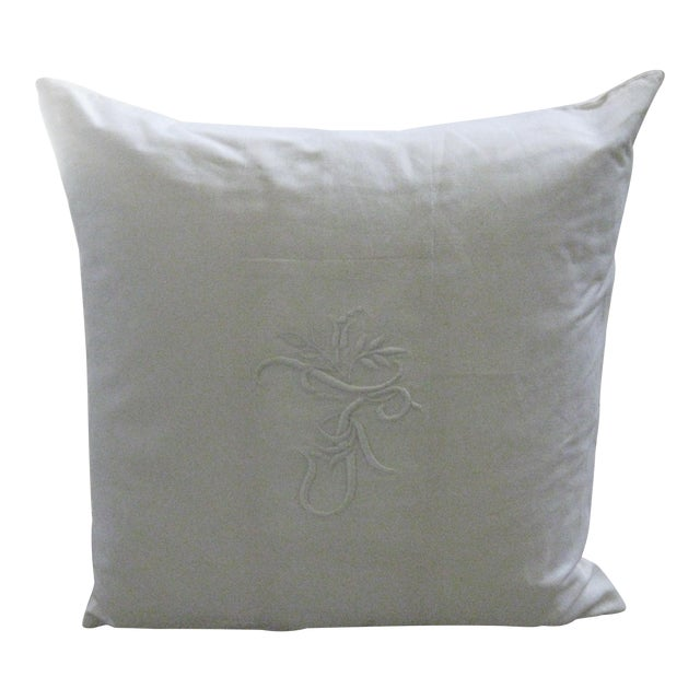 Ralph Lauren Home White Pillow For Sale
