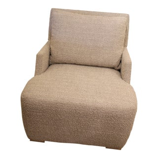 Ej Victor Chair in Boucle Fabric For Sale