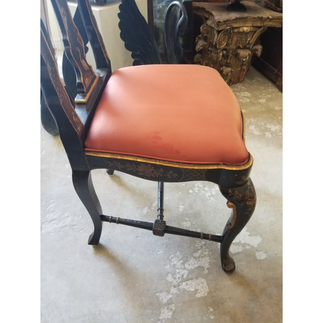 Pair of Chinoiserie Chairs For Sale In San Antonio - Image 6 of 12