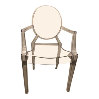 Modern Philipe Stark for Kartell Louis XVI Ghost Chair For Sale