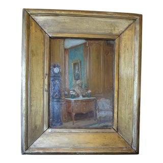 Oil on Board by Jeanne C. Rosenberg For Sale