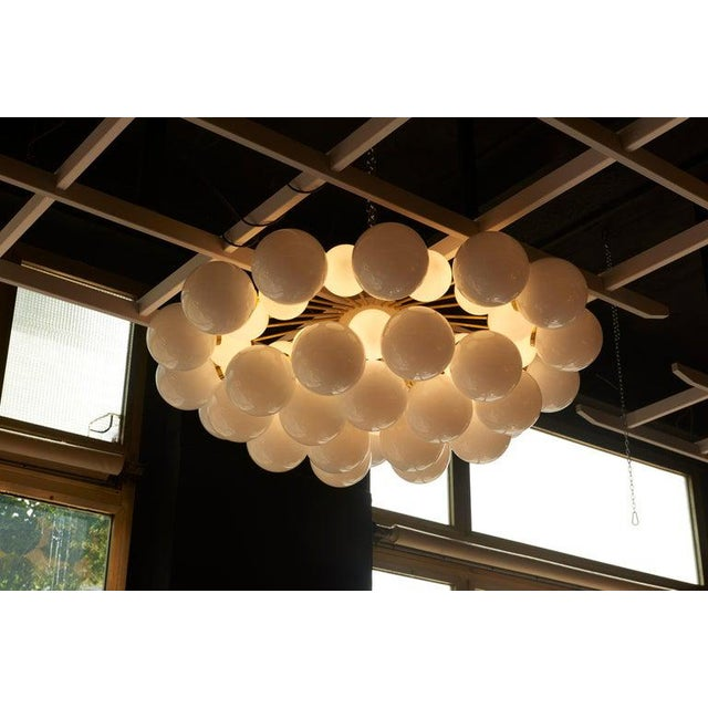 Monumental and impressing sputnik or cloud chandelier. The chandelier is a real eyecatcher in every room and it is in...