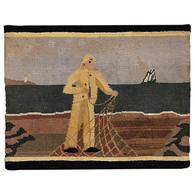 Grenfell Fisherman Hooked Mat - Image 1 of 6