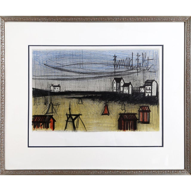 Bernard Buffet, Small Beaches, Lithograph For Sale