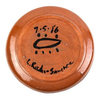 Linda Reeder-Sanchez Decorative Terracotta Native American Charger Plate Preview
