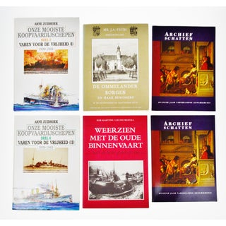 Vintage Dutch History Coffee Table Books - Set of 6 Preview