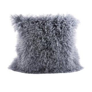 Mongolian Fur Pillow For Sale