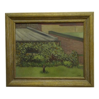 """""""Growing Tree"""" Signed Framed Original Painting on Canvas by Frederick McDuff"""