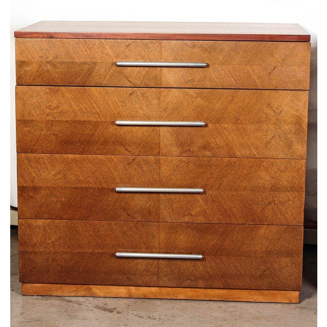 1930s Gilbert Rohde Herman Miller Art Deco 1933 World's Fair Dressers Matched Pair For Sale - Image 5 of 11