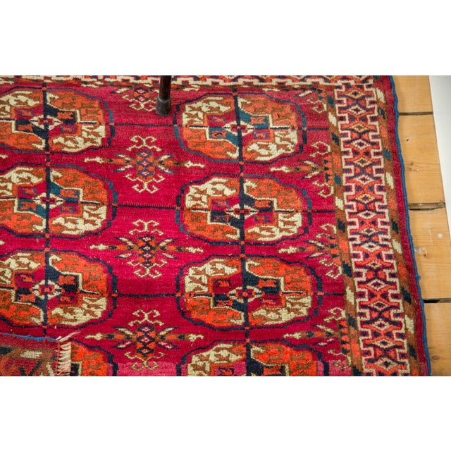"Vintage Turkmen Square Rug - 3'4"" X 3'4"" For Sale In New York - Image 6 of 8"