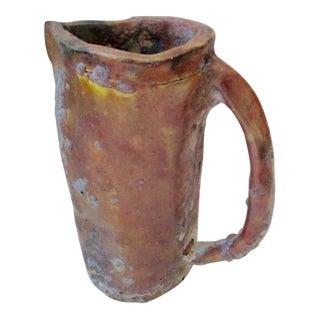 Brutalist Thick Glazed Pitcher Vase