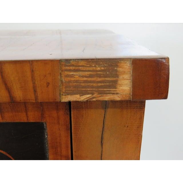 19th C. Biedermeier Cylinder Desk - Image 4 of 10