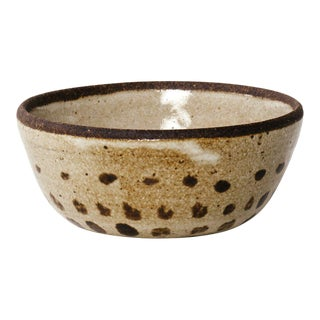 Dotted Glazed Ceramic Bowl