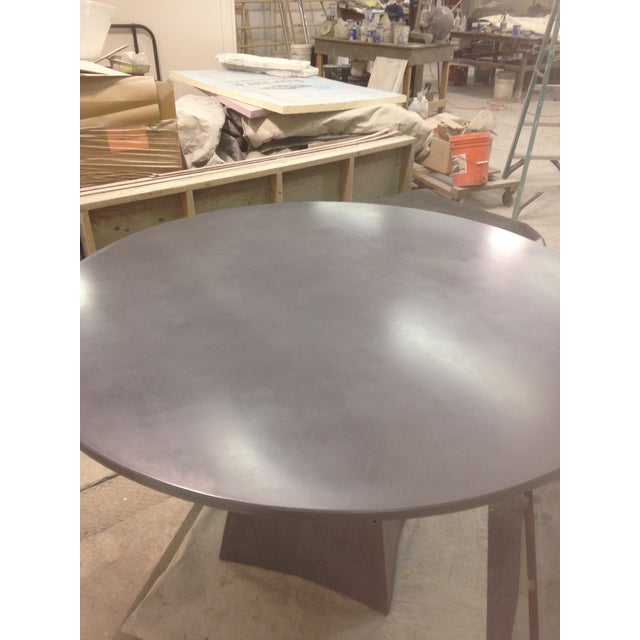 Not Yet Made - Made To Order Modern Vasa Concrete Dining Table For Sale - Image 5 of 6