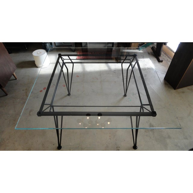 Atomic Age Mid-Century Iron Dining Set - Image 7 of 11