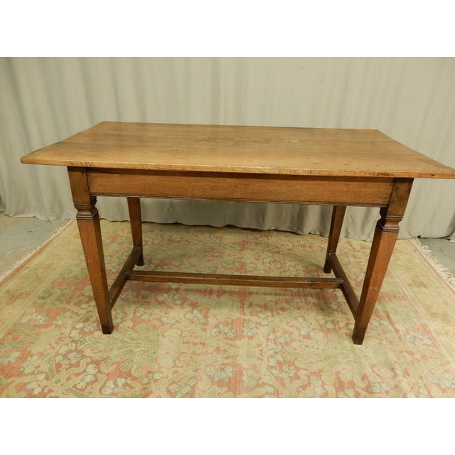 Brown 19th C Provincial Italian Writing Desk For Sale - Image 8 of 9