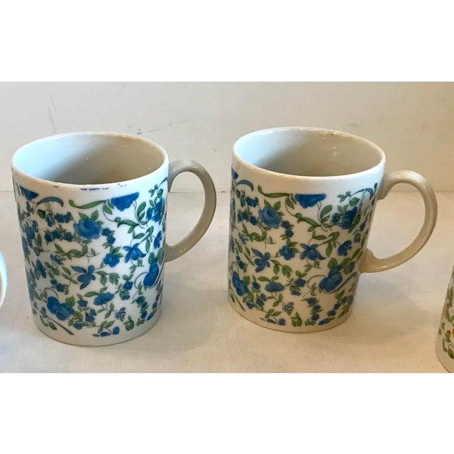 Vintage Japanese Ceramic Tea or Coffee Mugs - Set of 6 For Sale - Image 4 of 12