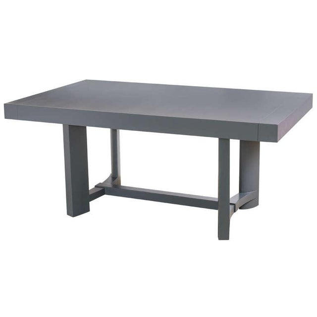 Lacquer T.H. Robsjohn-Gibbings Dining Table For Sale - Image 7 of 8