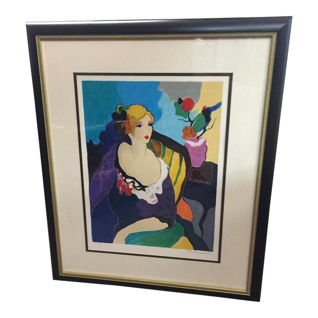 Itzchac Tarkay Lithograph Signed Artist Proof For Sale