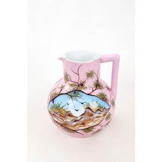 Vintage Pink Porcelain Jug Preview