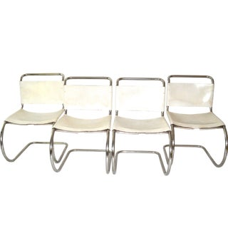 Ludwig Mies van der Rohe Chairs - Set of 4