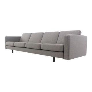 Danish Modern Four Place Sofa Designed by Hans Wegner For Sale