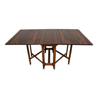 Bendt Winge for Kleppes Rosewood Dining Table
