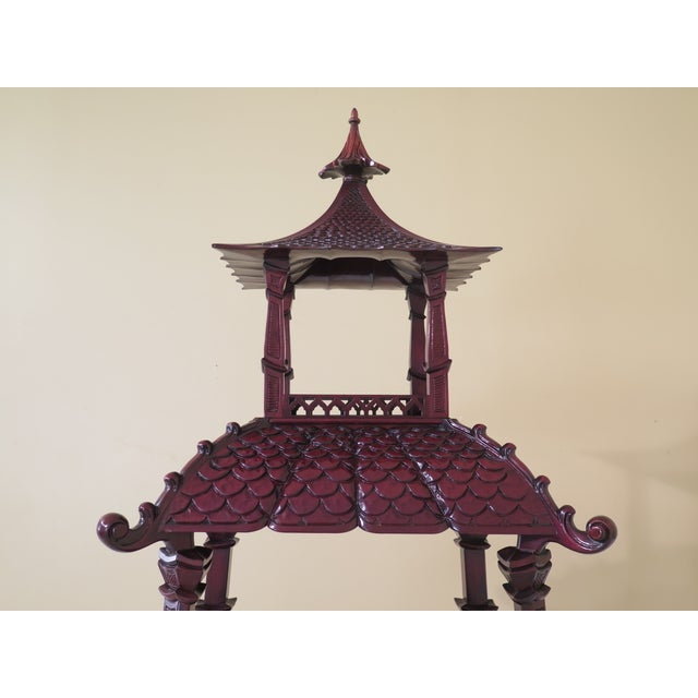 Approx: 5 Years Old Details: Dorothy Draper Collection Fine Carved Details High Quality Construction Rich High Sheen...