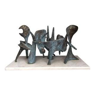 Bj Las Ponas Sculpture For Sale