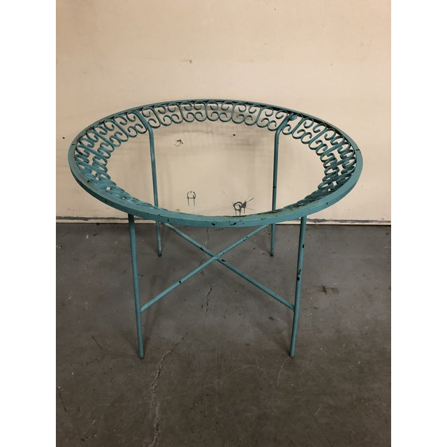 This listing is for a mid century Arthur Umanoff table base. Made in the 1960s.