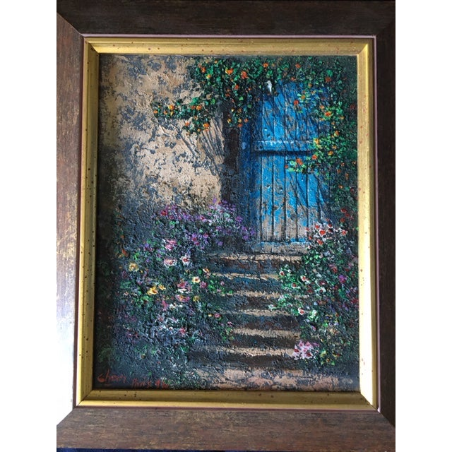 Paris Rue Montmartre Paintings - Pair - Image 3 of 4