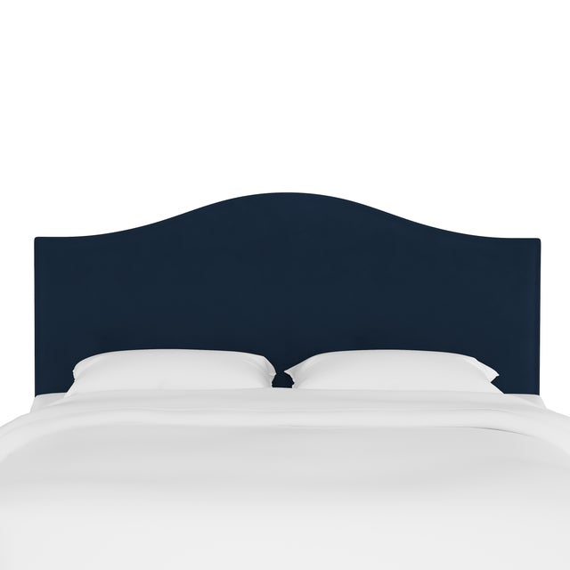 This fully upholstered headboard has a unique shape, allowing you to chart a course for a bedroom retreat that is at once...