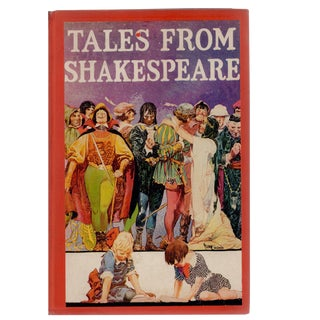 "Antiqu ""Tales From Shakespeare"" Hardcover Book For Sale"