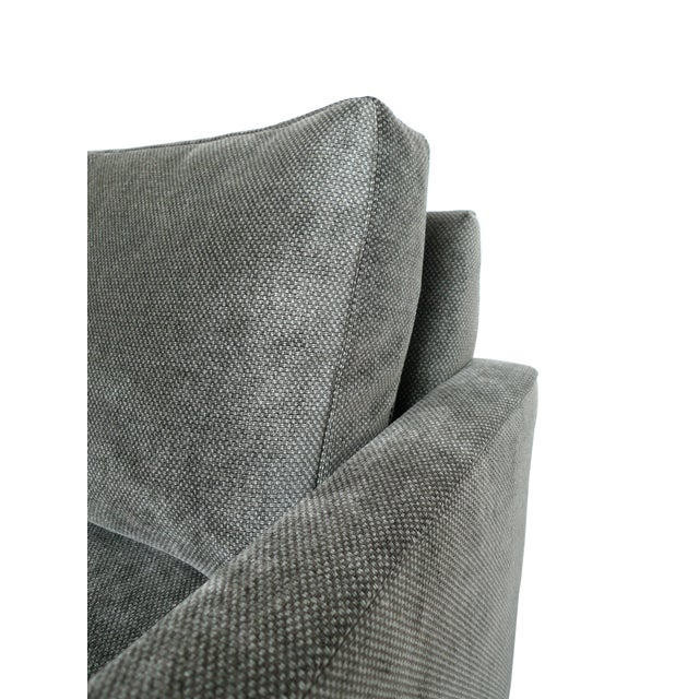 1970s Milo Baughman Gray Cube Chair - Image 6 of 8
