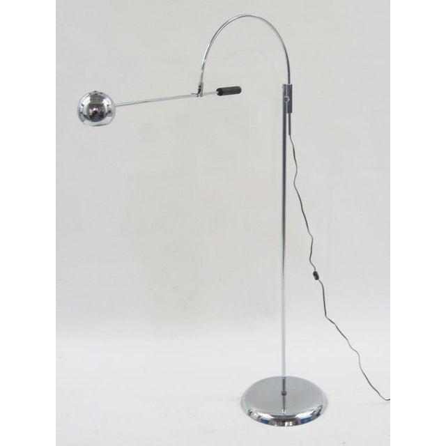 Orbiter floor lamp by Robert Sonneman - Image 4 of 11