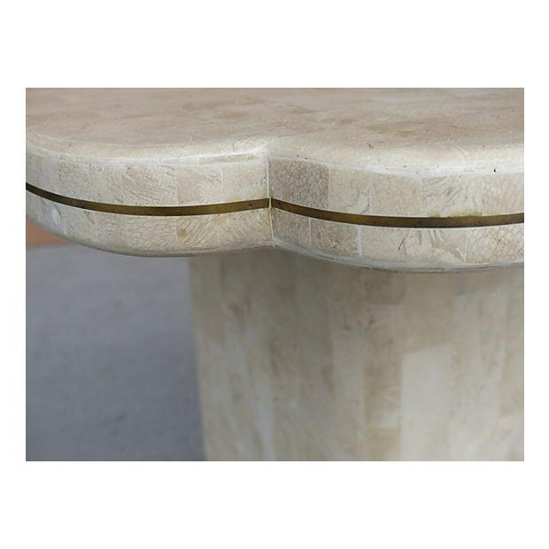 Maitland-Smith Style Tessellated Stone Console - Image 7 of 8