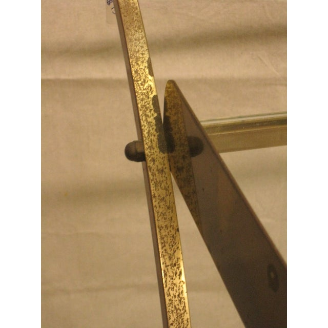 Deco Brass Bar Cart - Image 8 of 10