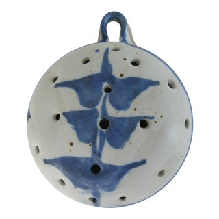 Handmade Pottery Strainer For Sale