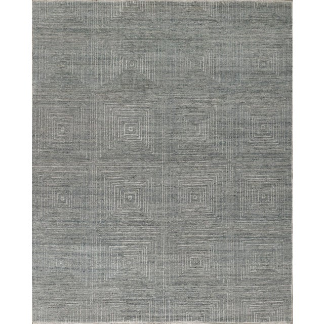 """Not Yet Made - Made To Order Stark Studio Rugs Emelina Rug in Mist, 12'0"""" x 15'0"""" For Sale - Image 5 of 5"""