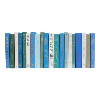 Late 20th Century Mini Ocean Books - Set of 20 For Sale