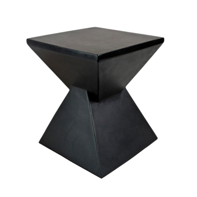 2010s Modern Outdoor Side Table For Sale - Image 5 of 5